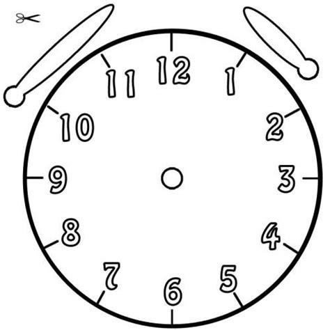 Ausmalbilder Uhr Mit Zeiger