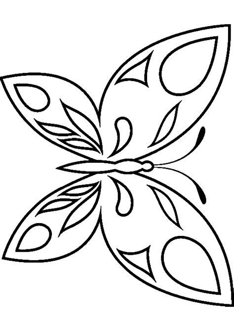 Ausmalbilder Vorlagen Schmetterling