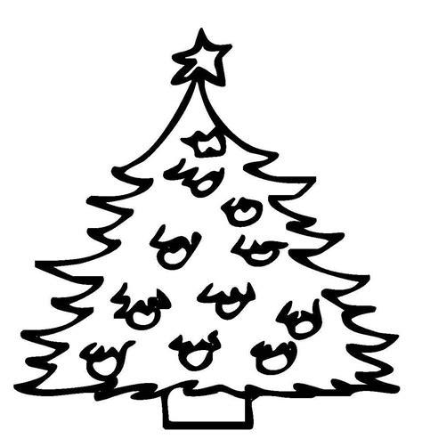 Ausmalbilder Weihnachten Christbaum