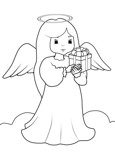 Ausmalbilder Weihnachten Engel
