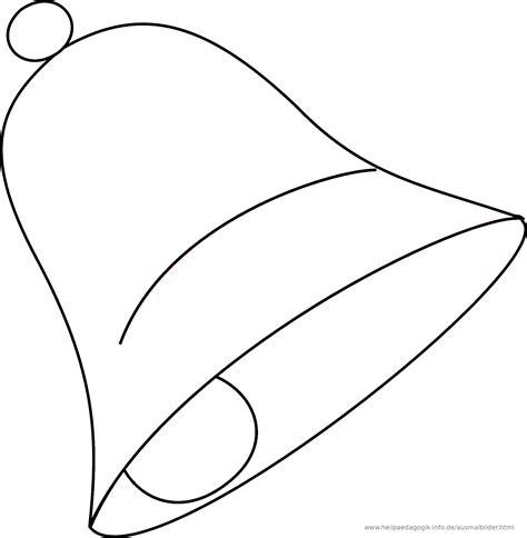 Ausmalbilder Weihnachten Glocke