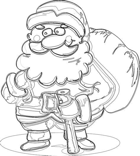 Ausmalbilder Weihnachtsmann Co Kg