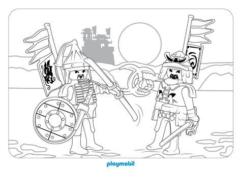 Ausmalbilder Wikinger Playmobil