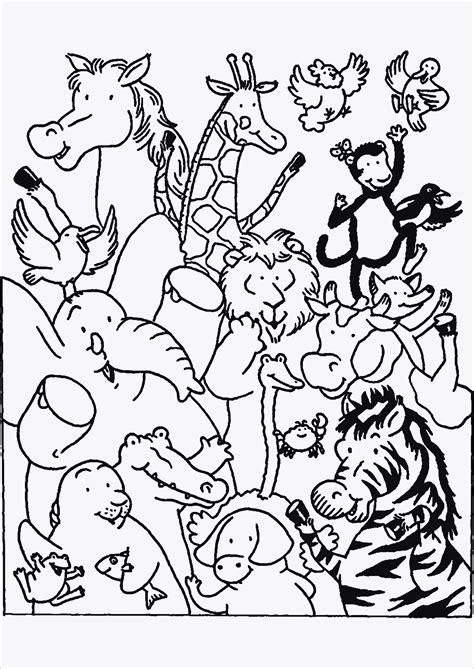 Ausmalbilder Zootiere Zum Ausdrucken