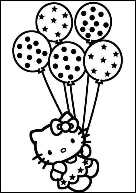 Ausmalbilder Zum Ausdrucken Hello Kitty