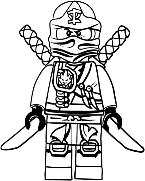 Ausmalbilder Zum Ausdrucken Lego Ninjago