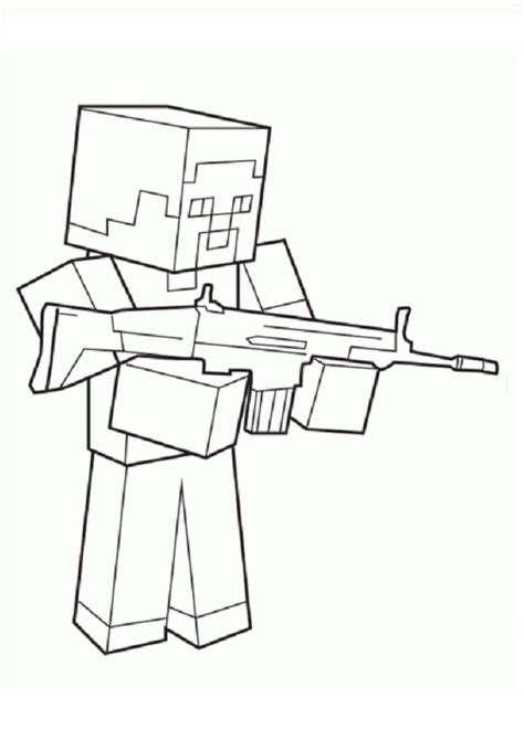 Ausmalbilder Zum Ausdrucken Minecraft