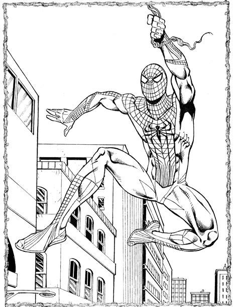 Ausmalbilder Zum Ausdrucken Spiderman