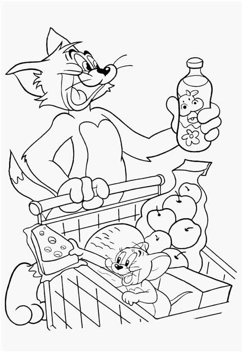 Ausmalbilder Zum Ausdrucken Tom Und Jerry