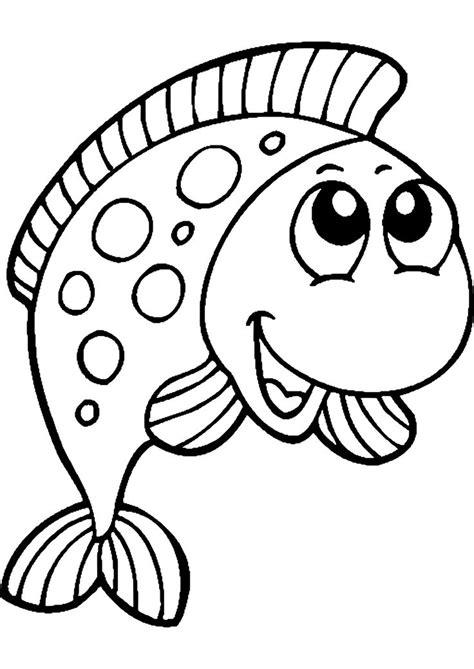 Ausmalbilder Zum Ausmalen Fische