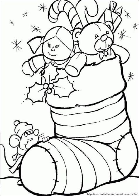 Ausmalbilder Zum Drucken Weihnachten