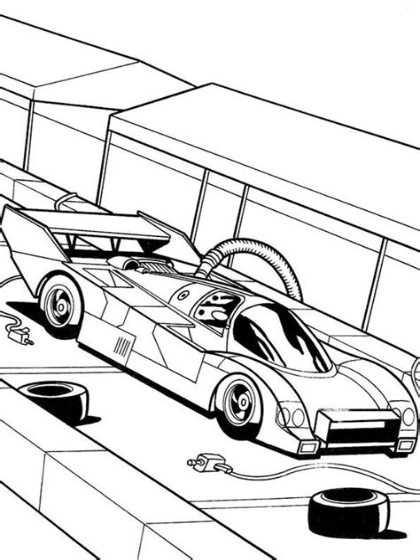 Ausmalbilder-hot Wheels Malvorlagen