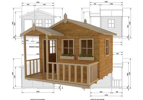 Australian cubby house plans Image