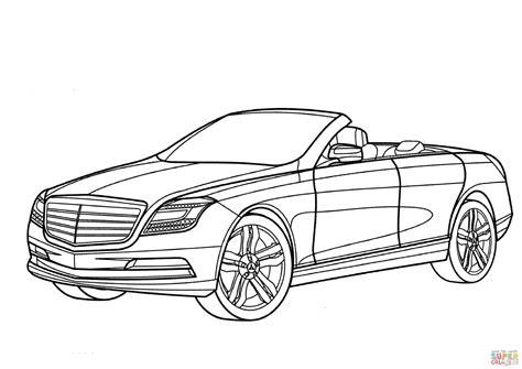 Auto Malvorlagen Mercedes