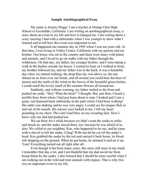 examples of autobiography essays example of essay about yourself  autobiography essay introduction examples cv templates healthcare autobiography essay introduction examples sample autobiography essay 841 words