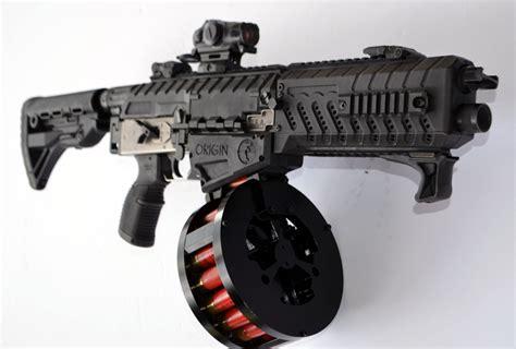 Automatic 12 Gauge Shotgun With Drum