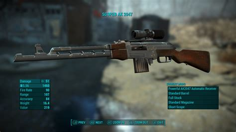 Automatic Gun With Easiest Ammo Fallout 4
