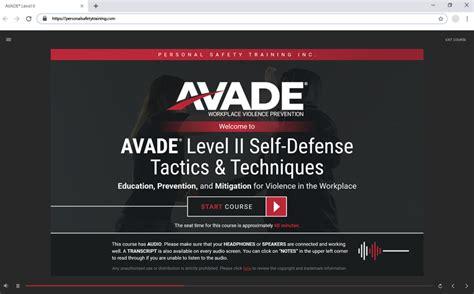 Avade Self Defense