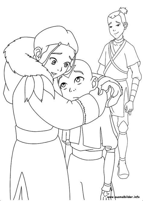 Avatar Herr Der Elemente Malvorlagen