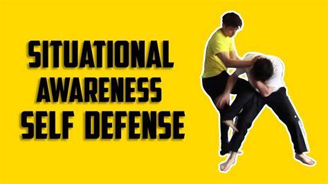 Awareness In Self Defense