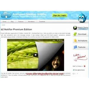 B2 notifier premium edition animated desktop notifier free animated desktop notifier for mac, windows, linux tips