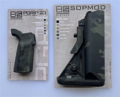 B5 Pistol Grip Multicam