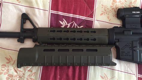 B5 Systems Handguard Vs Magpul