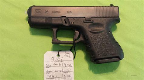 Baby Glock 9mm Handguns