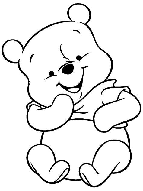 Baby Pooh Malvorlagen