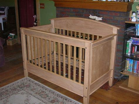 Baby bed plans woodworking Image