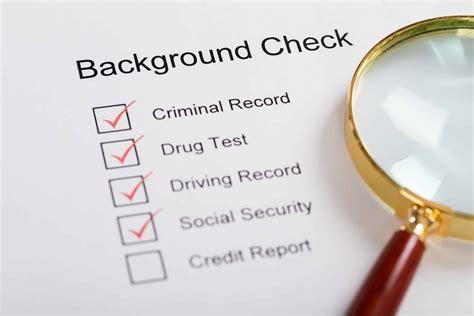 back ground checks