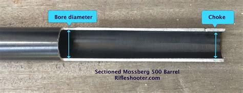 Back Bored Mossberg 500 Barrel