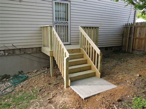 Back Porch Stairs Design