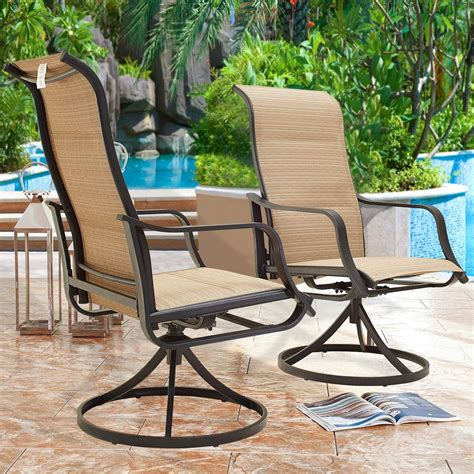 Back patio furniture Image