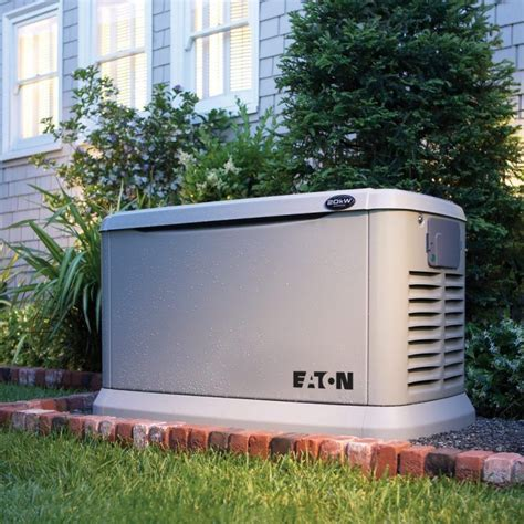 Backup generator for a house Image