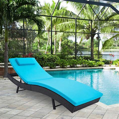 Backyard pool furniture Image