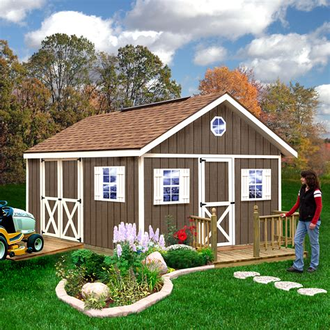 Backyard storage shed kits Image