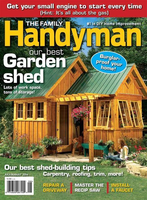 Backyard studio plans handyman magazine Image