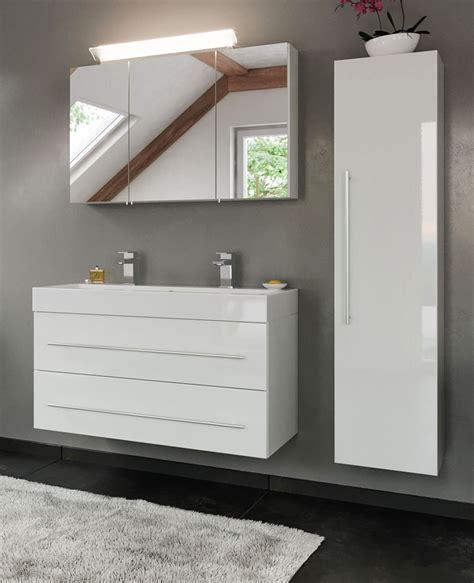 Badezimmer Hochschrank Weiß