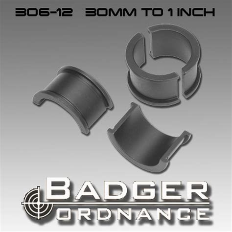 Badger Ordnance Maximized Scope Ring Reducers Maximized Scope Ring 30mm To 1