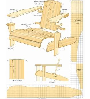 Balcony Chair Plans
