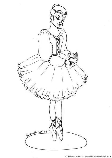 Ballerina Malvorlage