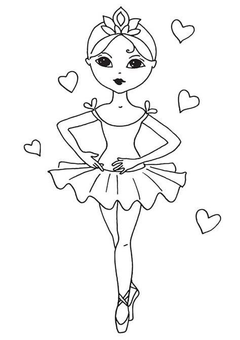 Ballerina Malvorlagen Ausdrucken