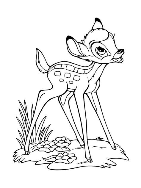 Bambi Malvorlage