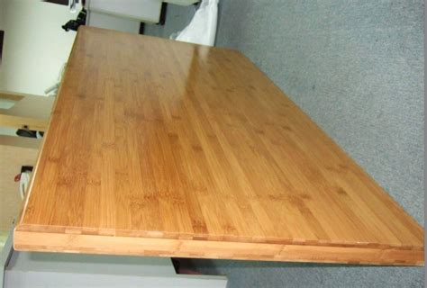 Bamboo bench tops Image