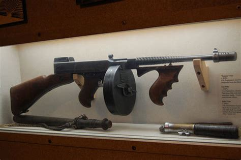 Ban On Tommy Gun In 1920