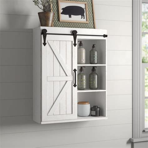"Banbury 21.75"" W x 27.75"" H Wall Mounted Cabinet"