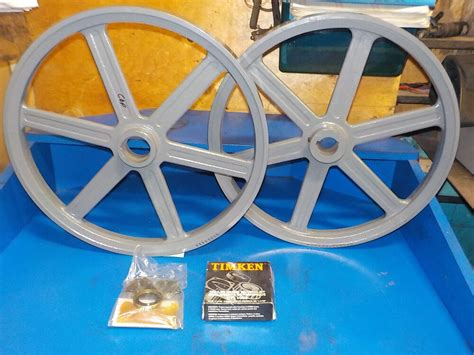 Bandsaw wheels for sawmill Image