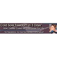Banish cold sores! in 3 simple steps free trial
