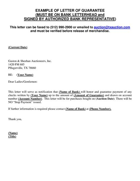 covering letter for bank guarantee guarantee letter 1275 x 1650